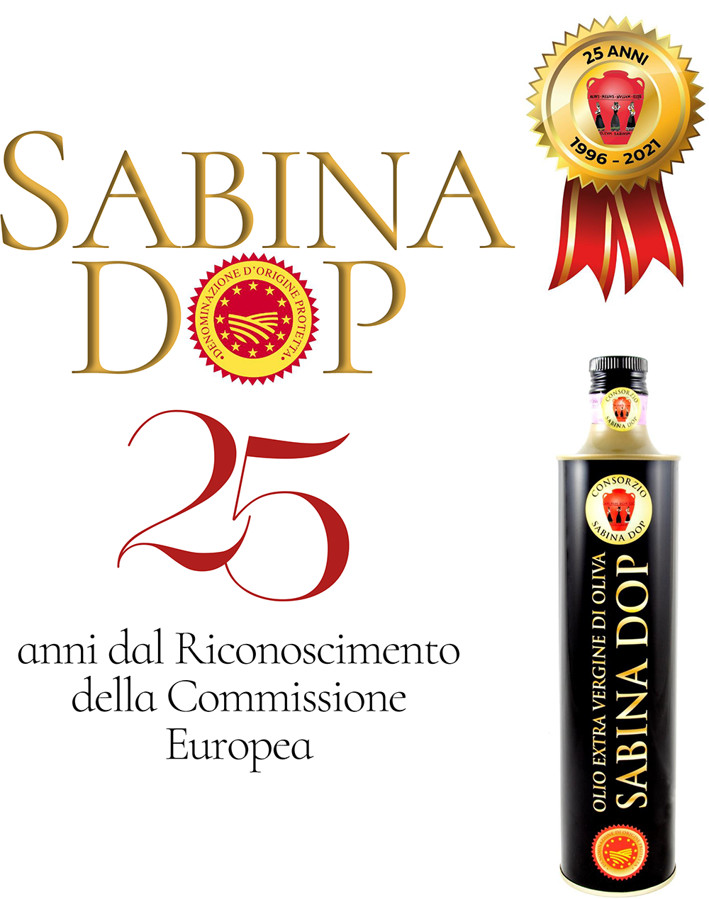 25 anni del Consorzio SABINA DOP: 1996-2021