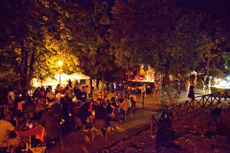 Degustazione Sabina DOP del 29 luglio al Fara Music Festival 2012