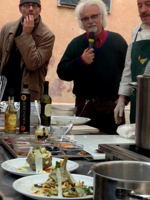 Il laboratorio con lo chef Antonio Sciullo