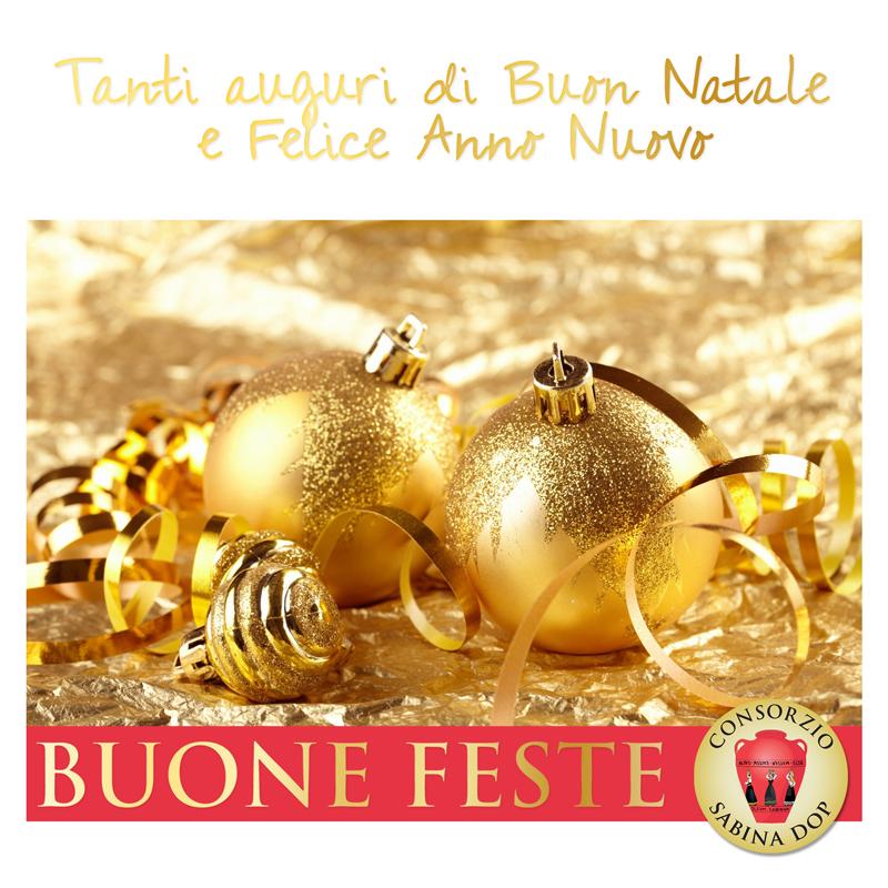 Buone feste dal Consorzio Sabina DOP