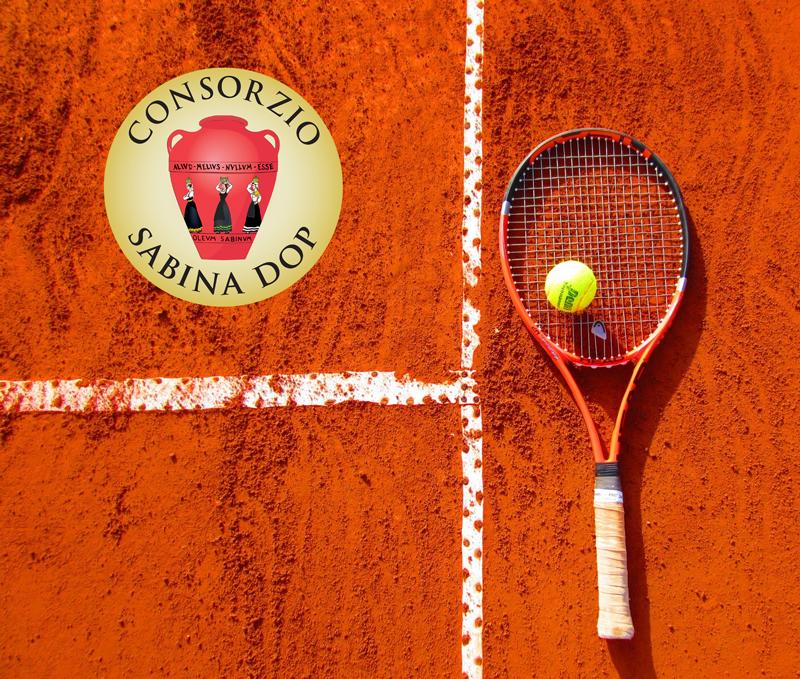 L'Olio Sabina DOP agli Internazionali di Tennis a Roma dal 6 al 19 maggio